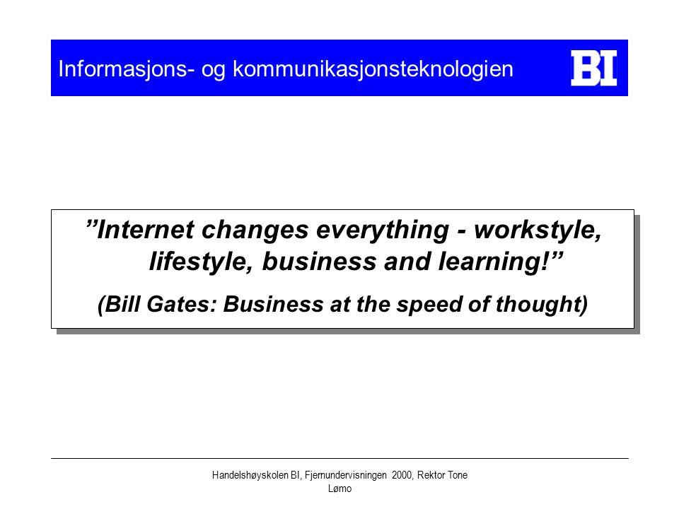 Informasjons- og kommunikasjonsteknologien