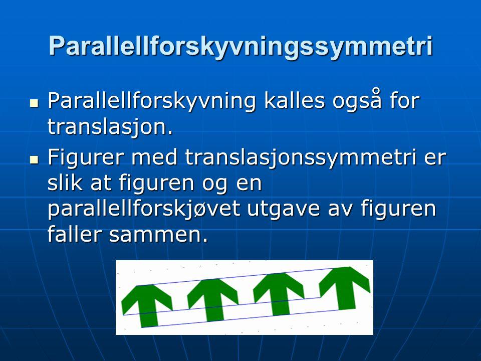Parallellforskyvningssymmetri