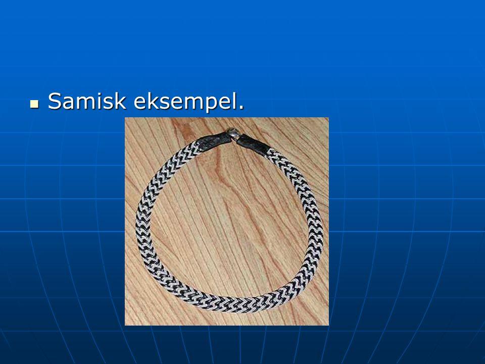 Samisk eksempel.