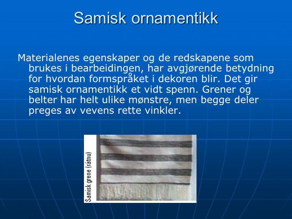 Samisk ornamentikk