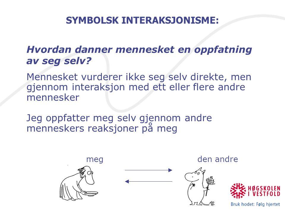 SYMBOLSK INTERAKSJONISME: