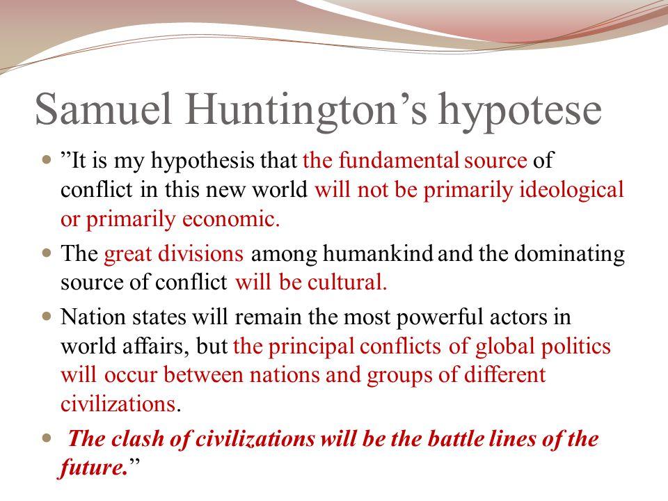 Samuel Huntington's hypotese