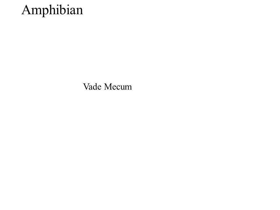 Amphibian Vade Mecum