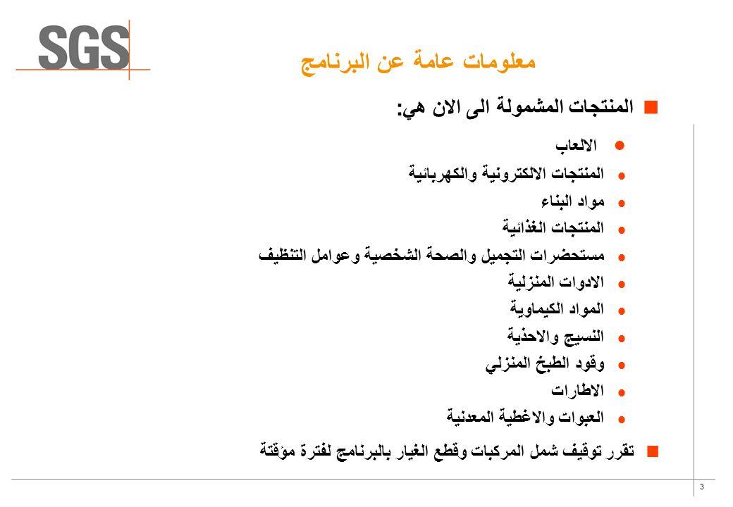 معلومات عامة عن البرنامج