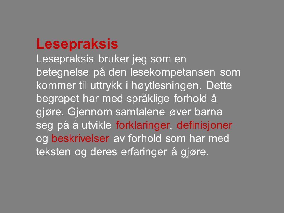 Lesepraksis