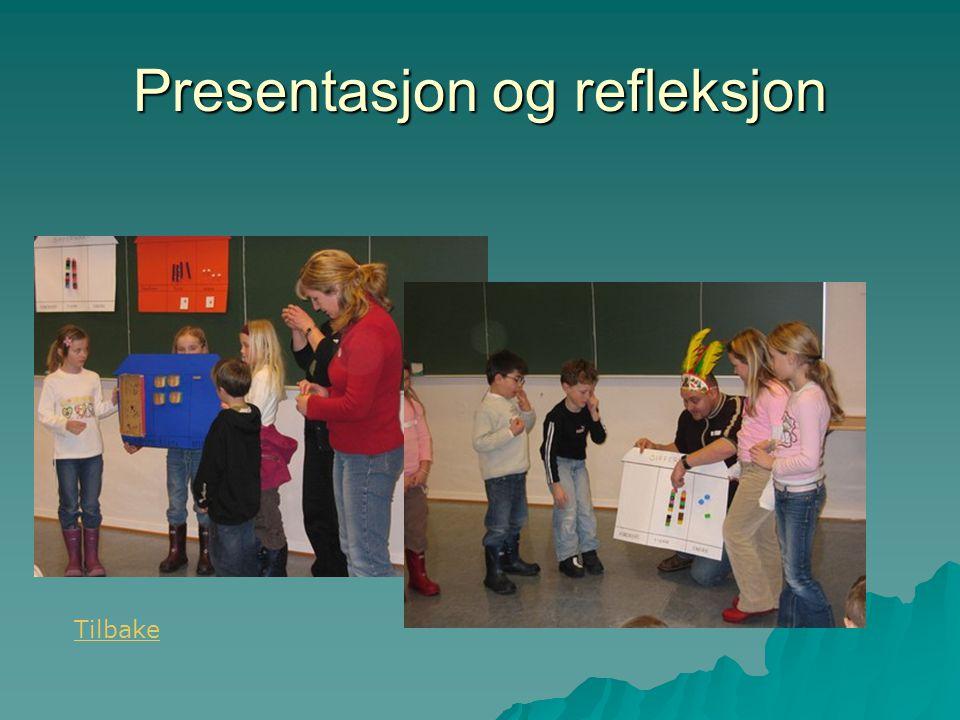 Presentasjon og refleksjon
