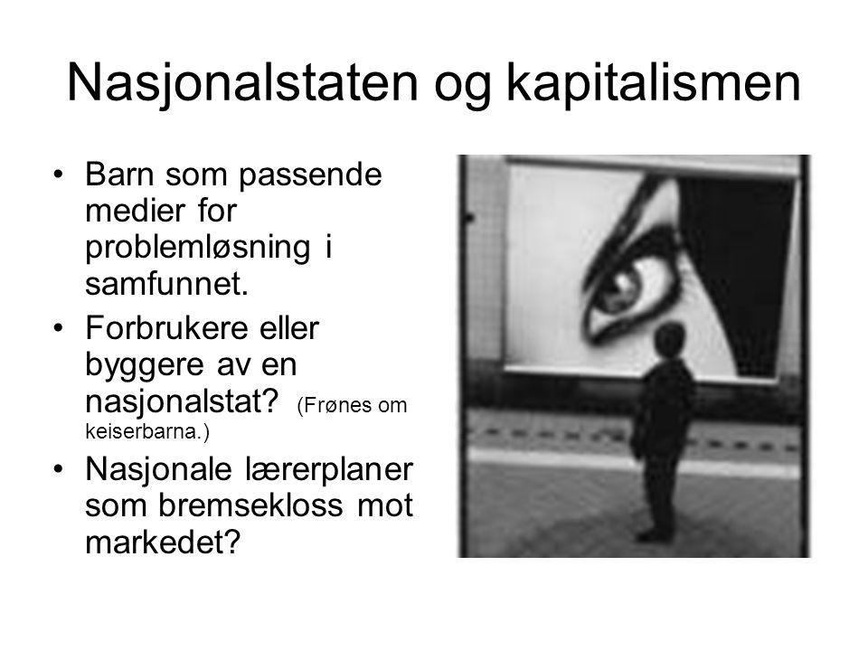 Nasjonalstaten og kapitalismen