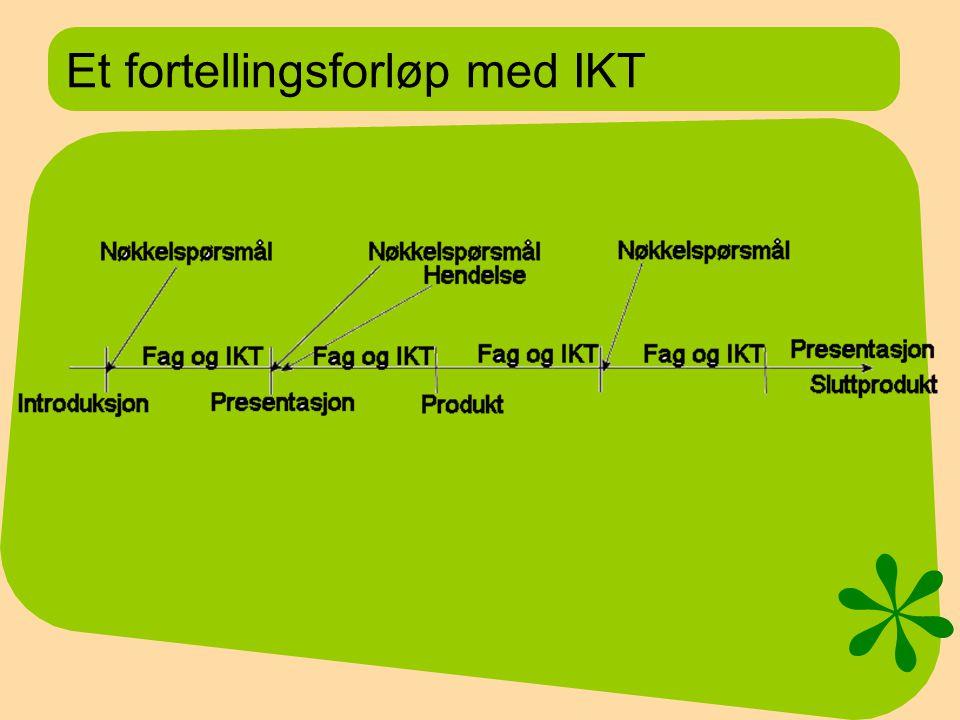 Et fortellingsforløp med IKT