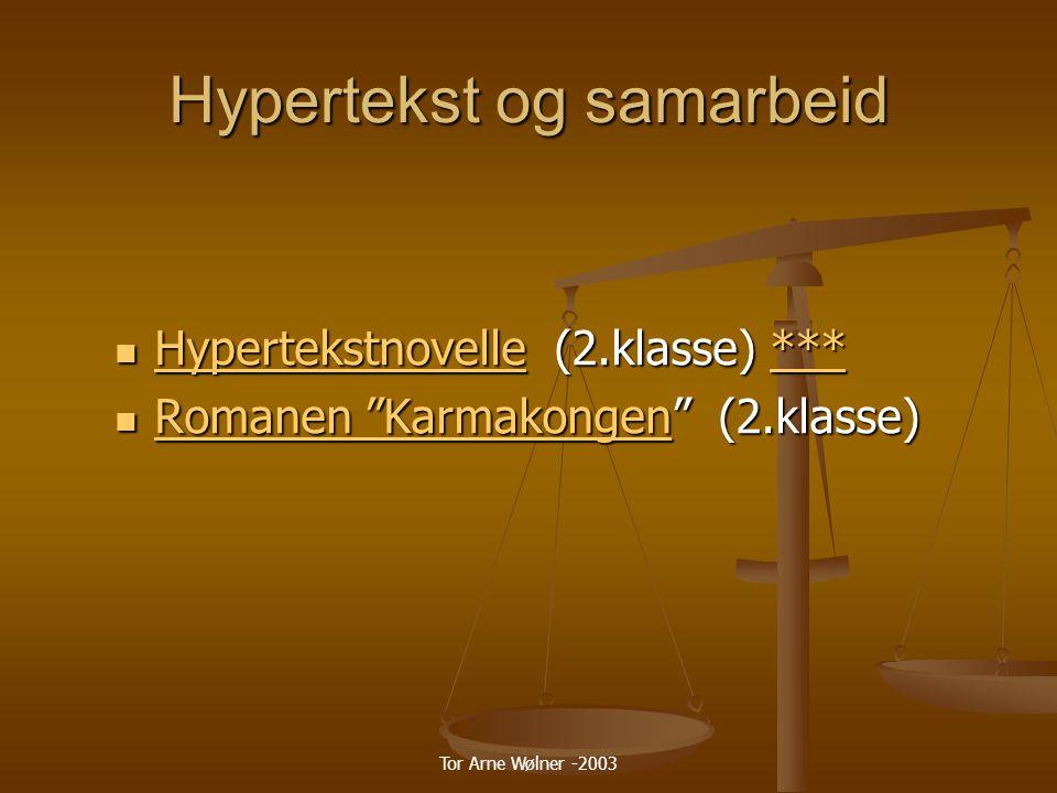 Hypertekst og samarbeid