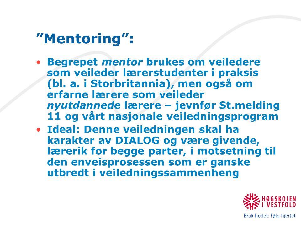 Mentoring :