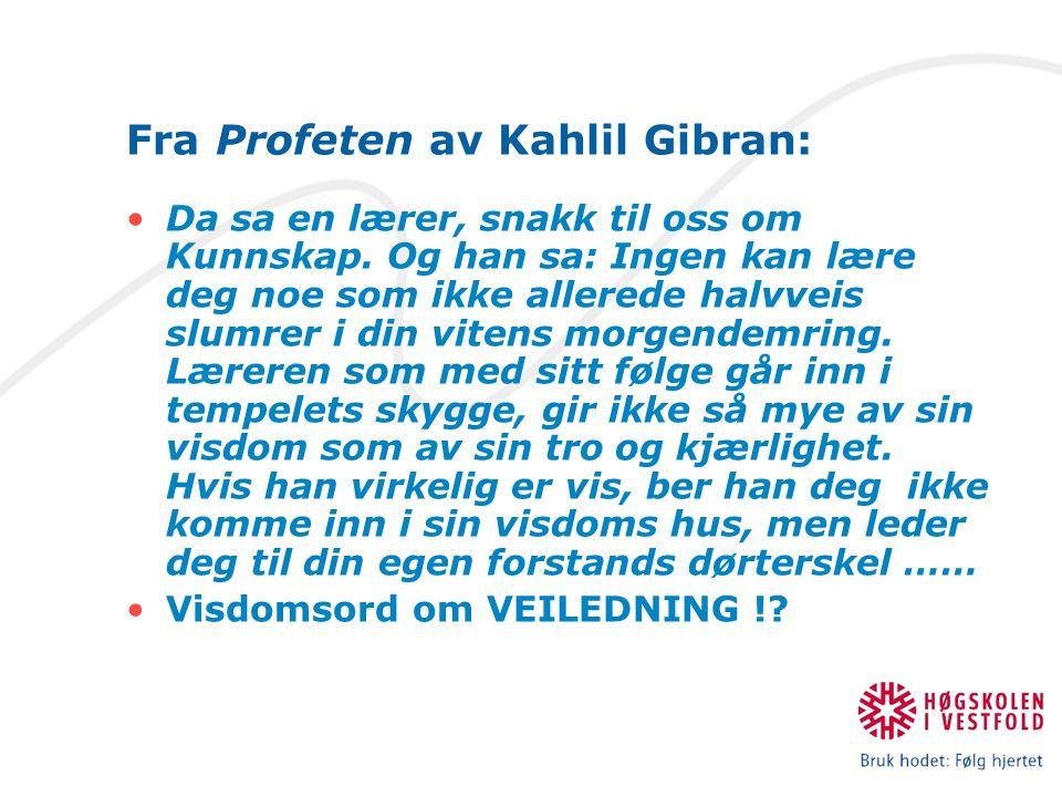 Fra Profeten av Kahlil Gibran: