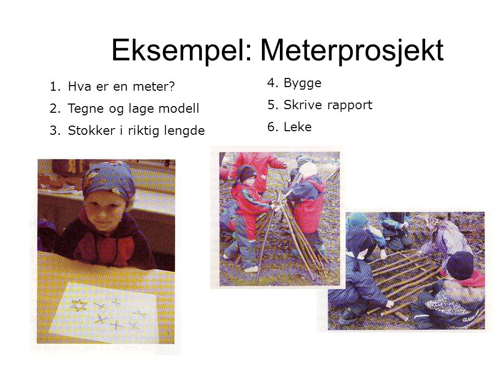 Eksempel: Meterprosjekt