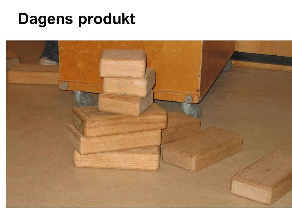 Dagens produkt -BYGGEPODIUM
