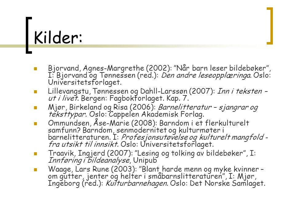 Kilder: