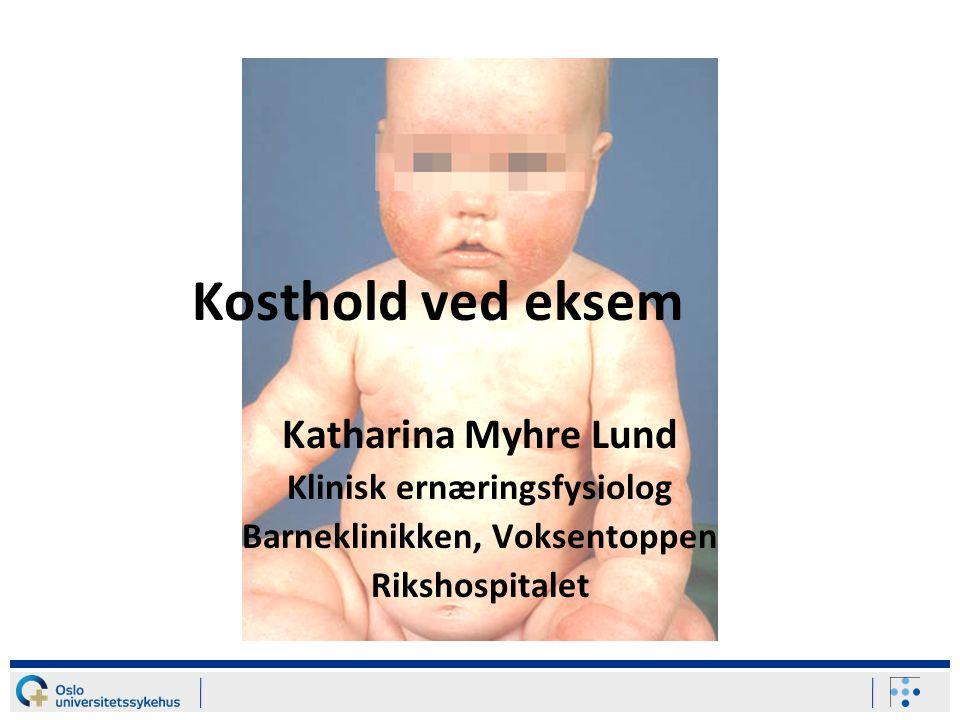 Klinisk ernæringsfysiolog Barneklinikken, Voksentoppen