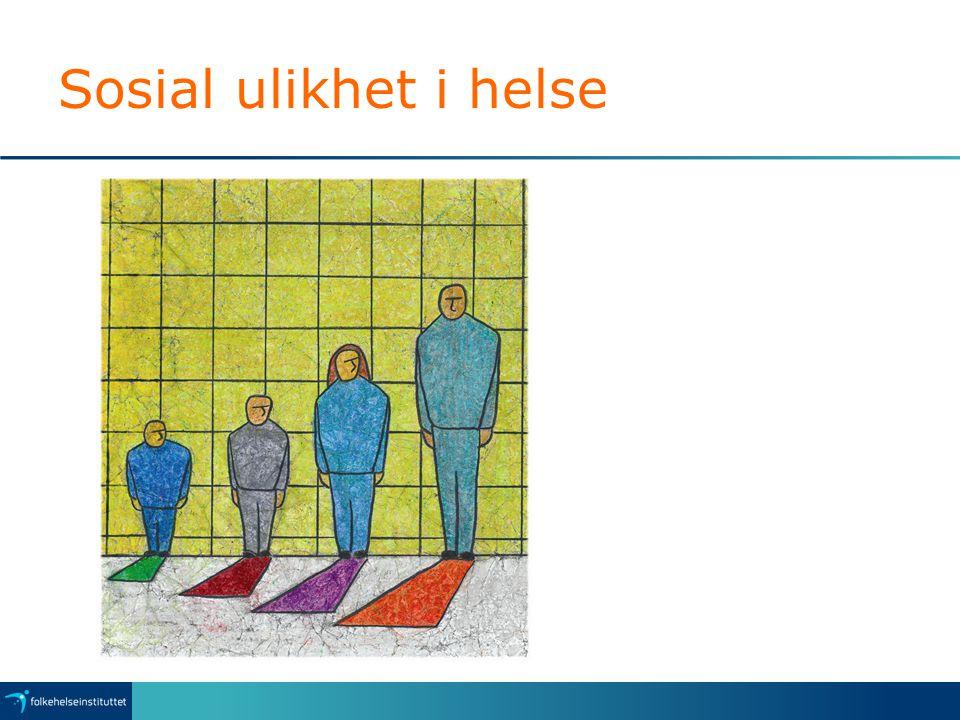 Sosial ulikhet i helse