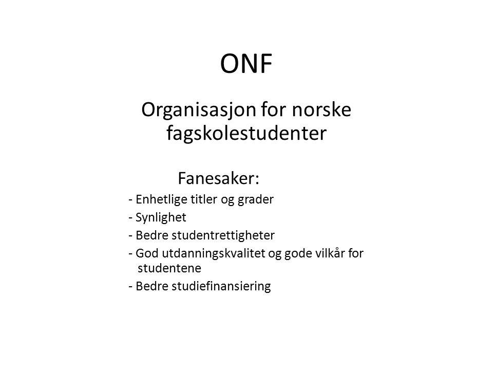 Organisasjon for norske fagskolestudenter
