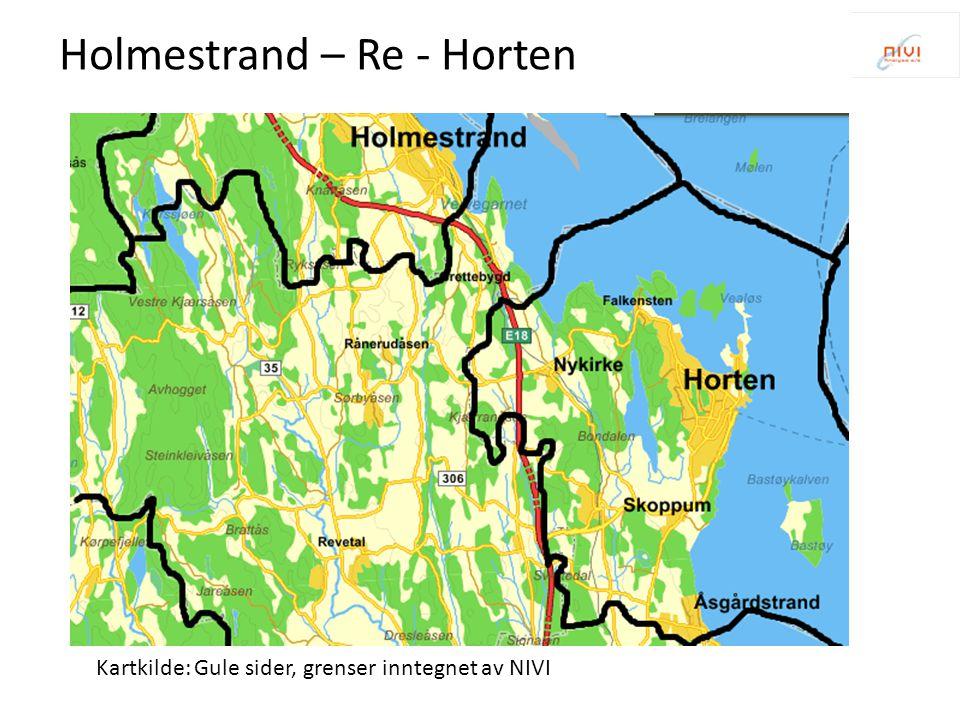 Holmestrand – Re - Horten
