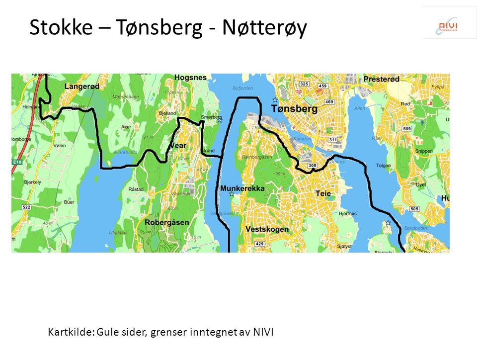 Stokke – Tønsberg - Nøtterøy