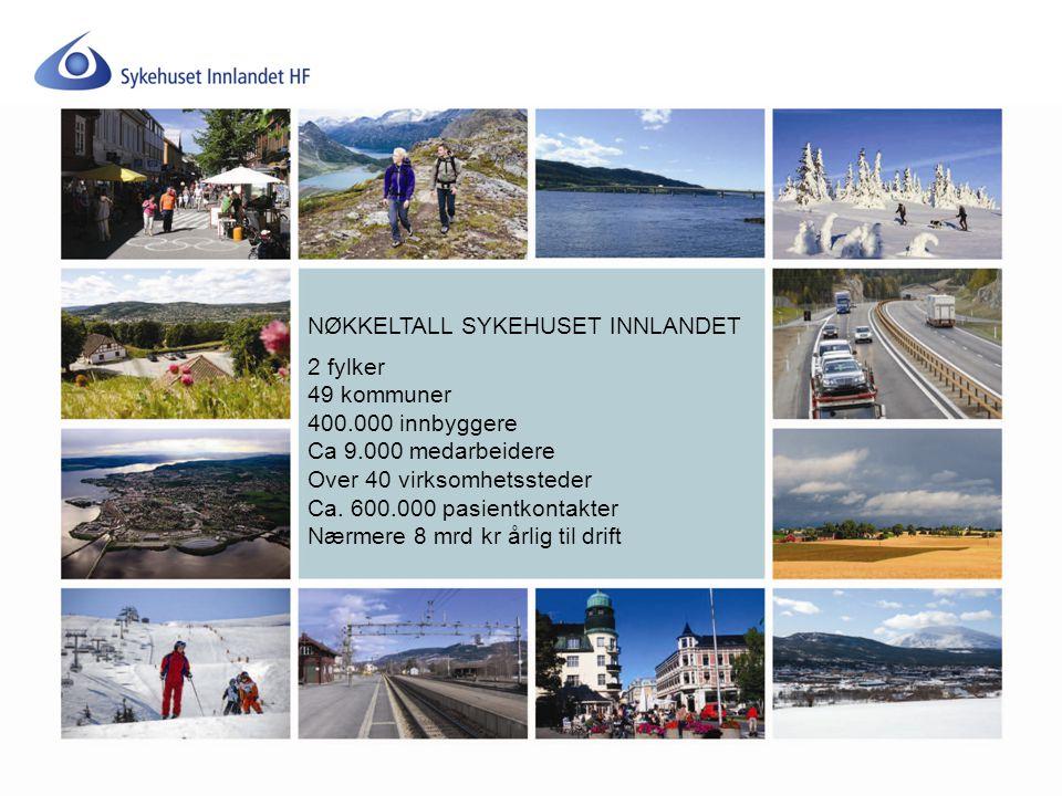NØKKELTALL SYKEHUSET INNLANDET