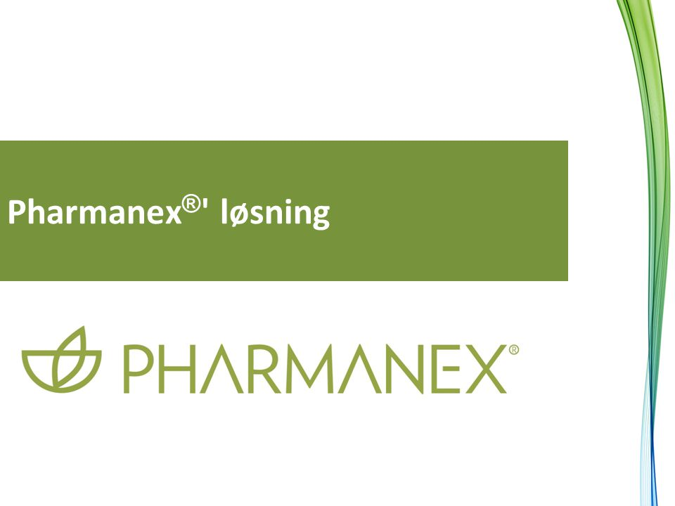 Pharmanex® løsning