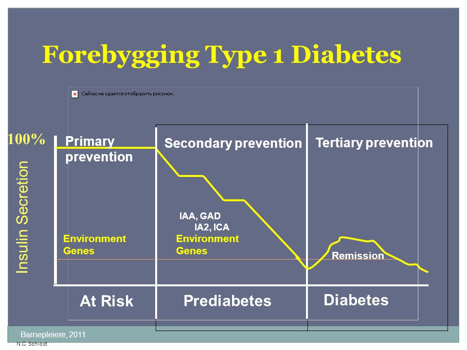 Forebygging Type 1 Diabetes