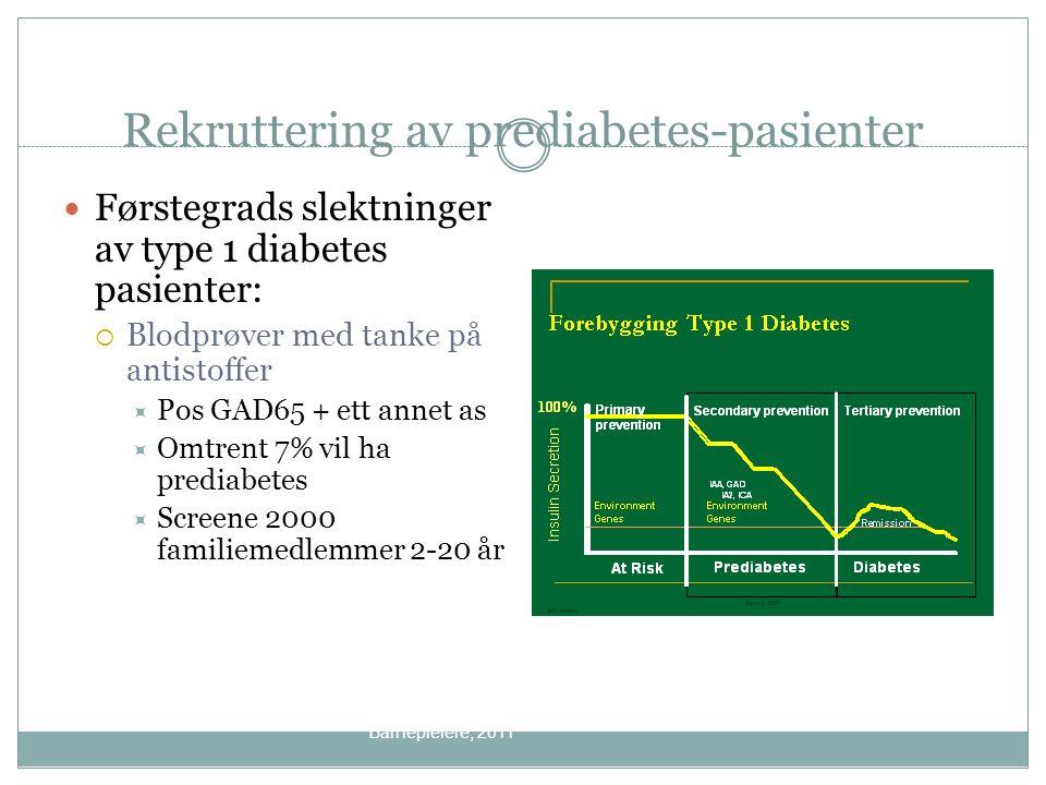 Rekruttering av prediabetes-pasienter