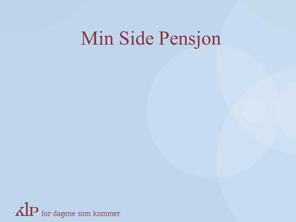 Min Side Pensjon KAPITTELSIDE (Blå, norsk pay-off)