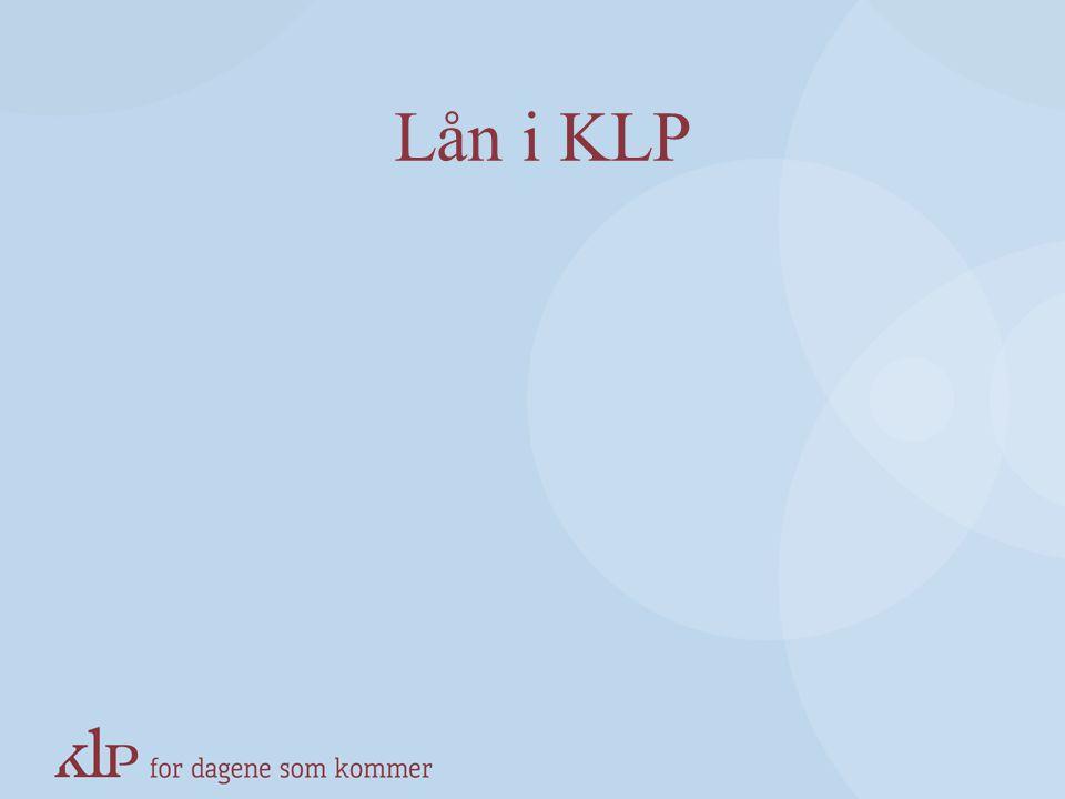 Lån i KLP KAPITTELSIDE (Blå, norsk pay-off)