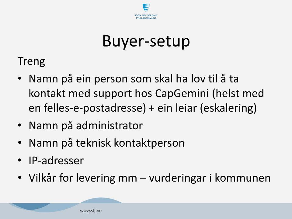 Buyer-setup Treng.