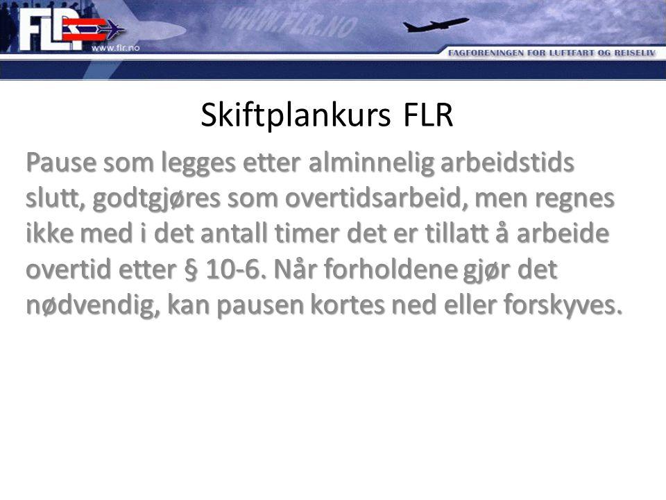 Skiftplankurs FLR