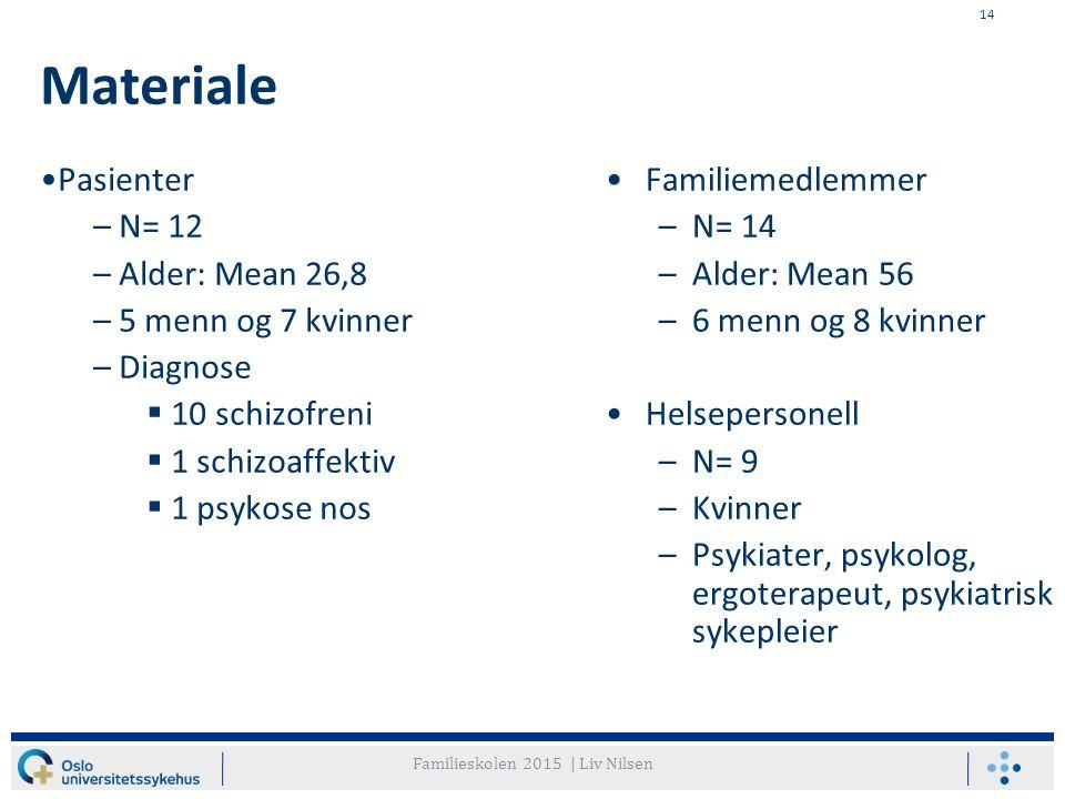 Familieskolen 2015 | Liv Nilsen