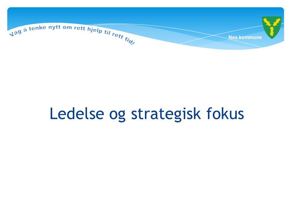 Ledelse og strategisk fokus