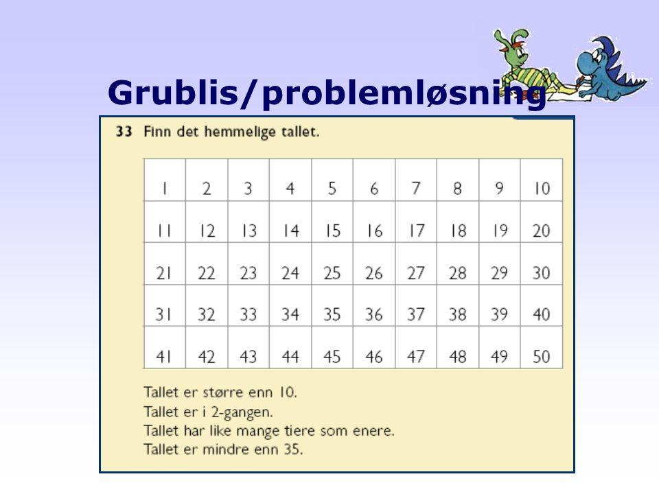 Grublis/problemløsning