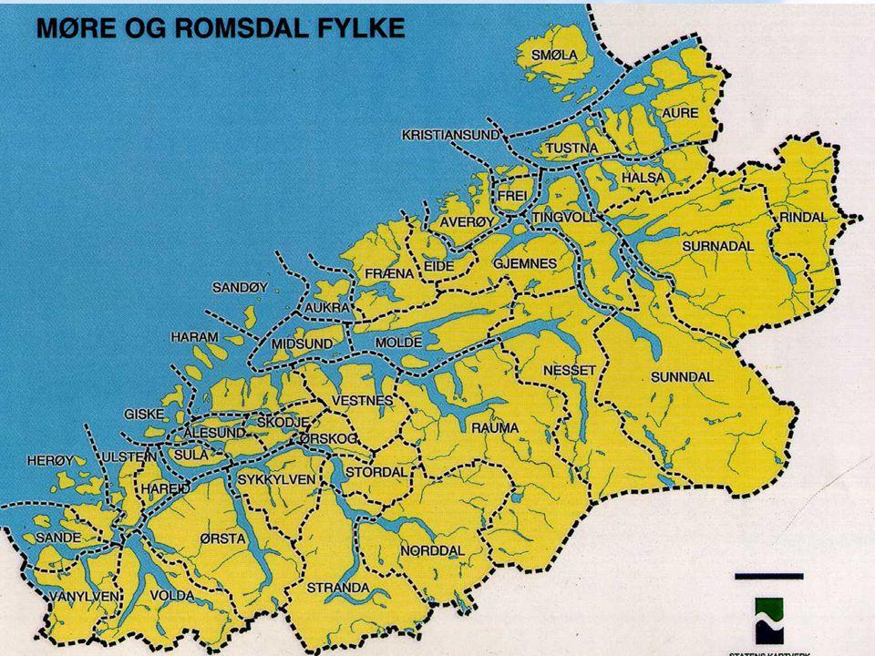 Kommuner: Ålesund, Giske, Hareid, Sula, Norddal, Stordal, Stranda, Ørskog, Haram, Sykkylven, Skodje