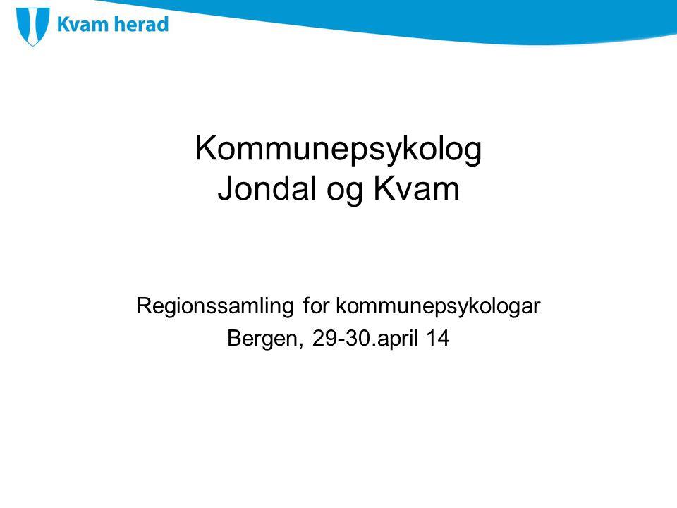 Kommunepsykolog Jondal og Kvam