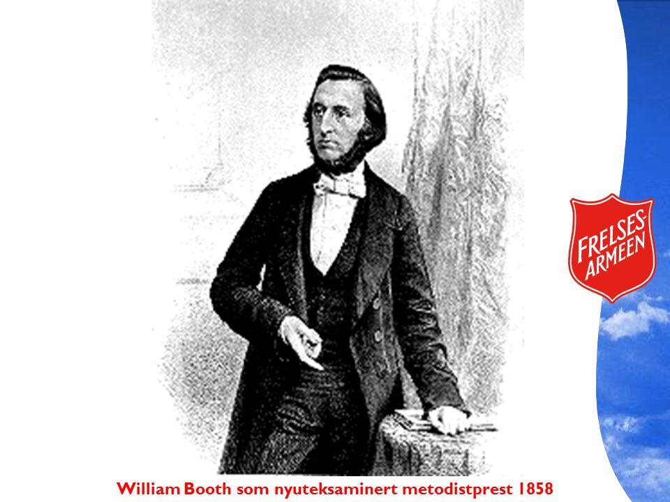 William Booth som nyuteksaminert metodistprest 1858