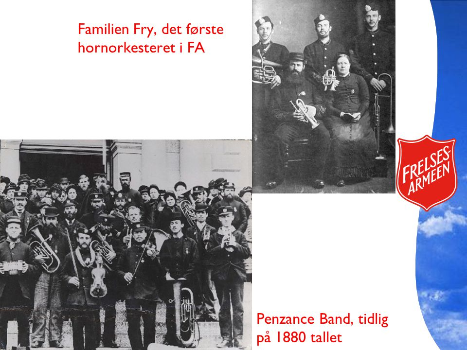 Familien Fry, det første hornorkesteret i FA