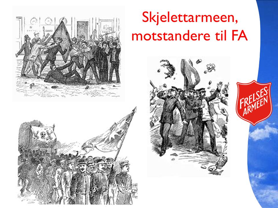 Skjelettarmeen, motstandere til FA