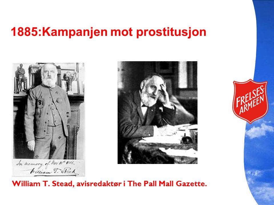 William T. Stead, avisredaktør i The Pall Mall Gazette.