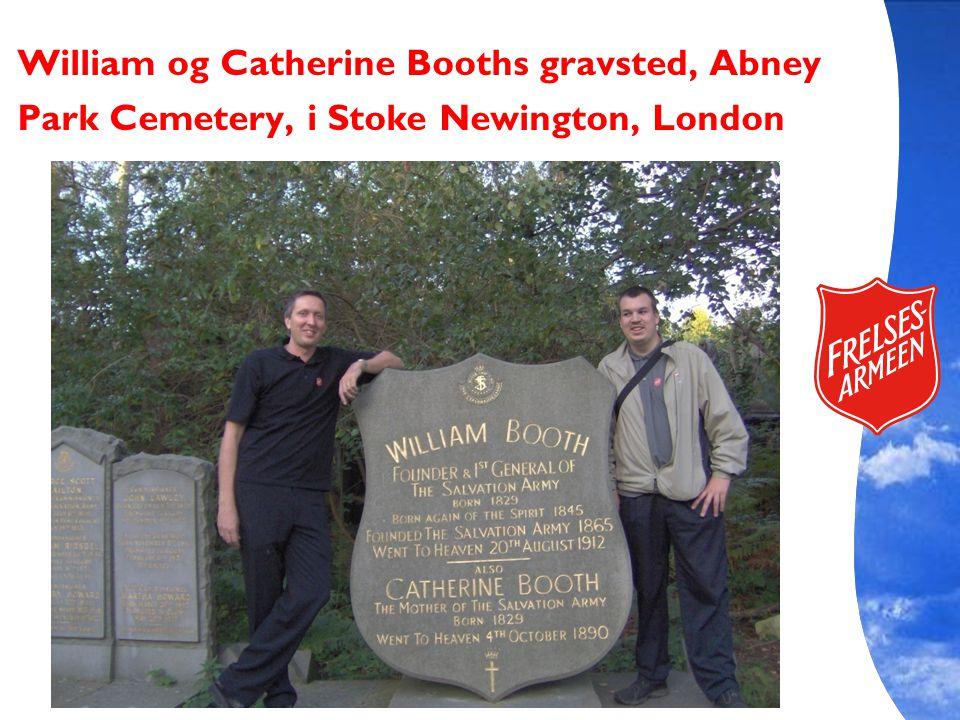 William og Catherine Booths gravsted, Abney Park Cemetery, i Stoke Newington, London