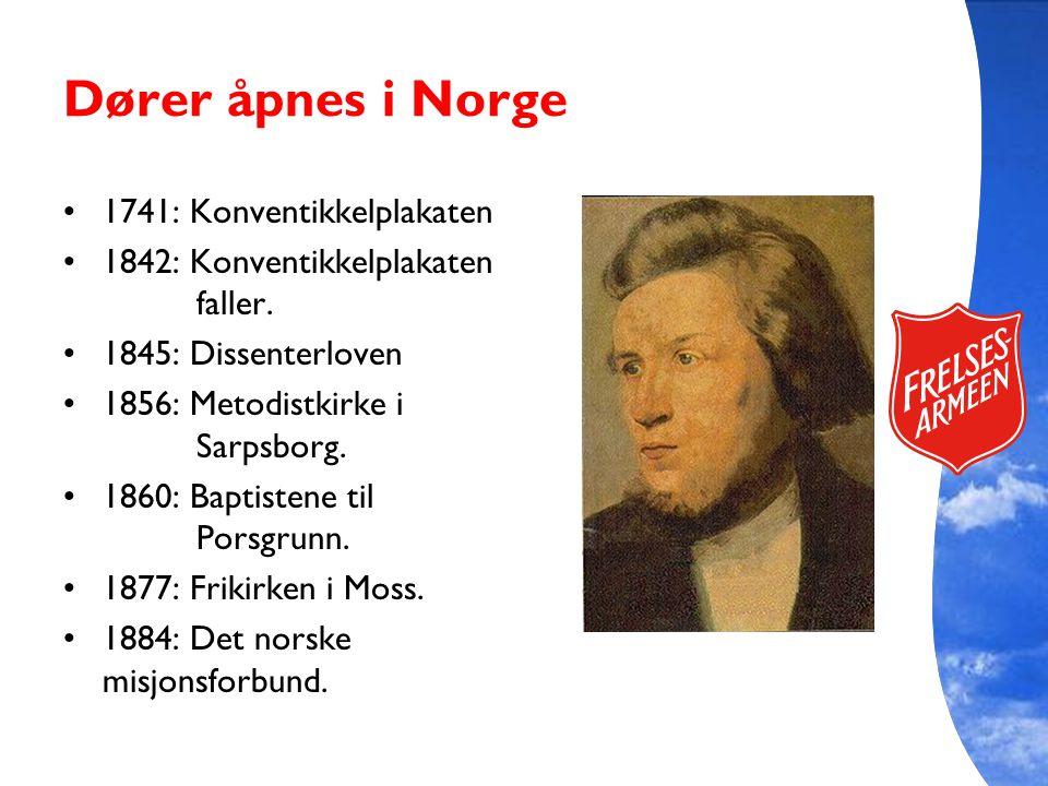 Dører åpnes i Norge 1741: Konventikkelplakaten