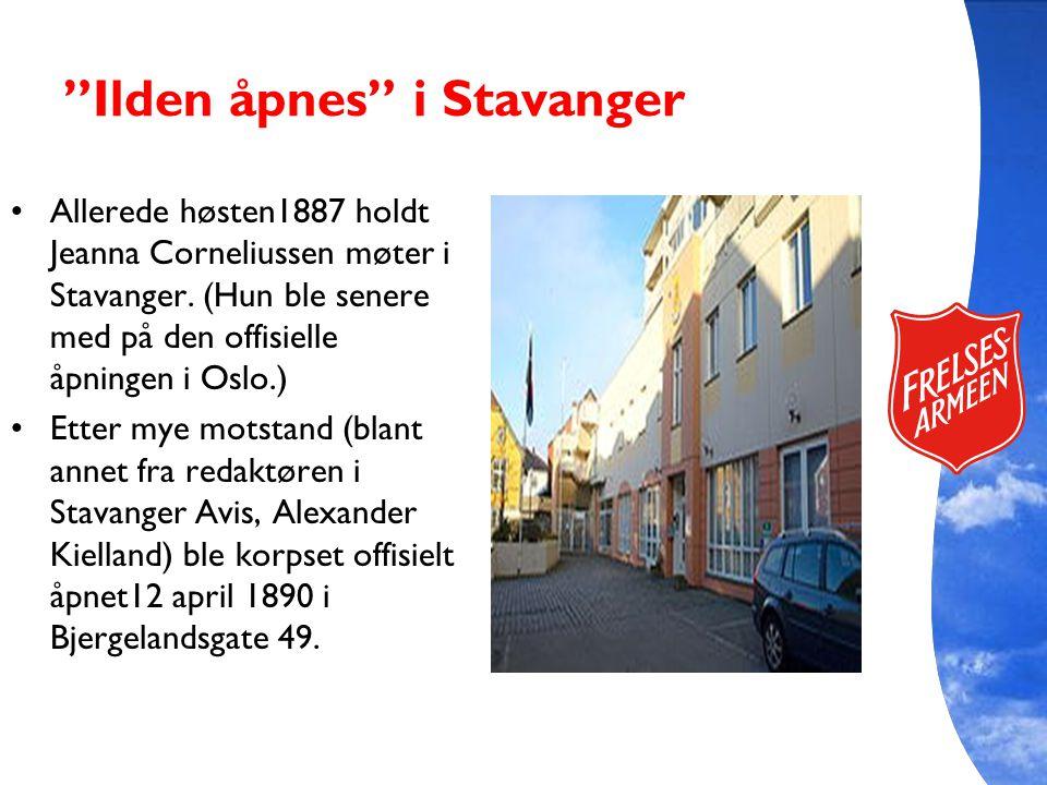 Ilden åpnes i Stavanger