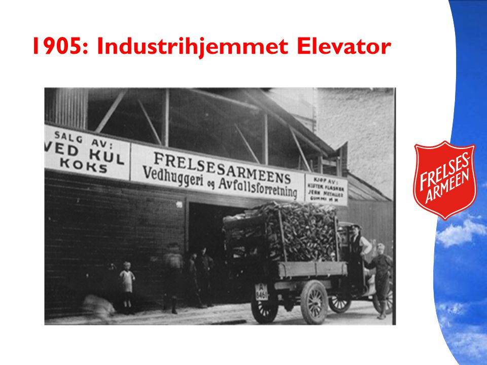 1905: Industrihjemmet Elevator