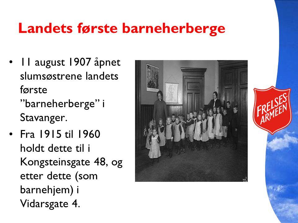 Landets første barneherberge