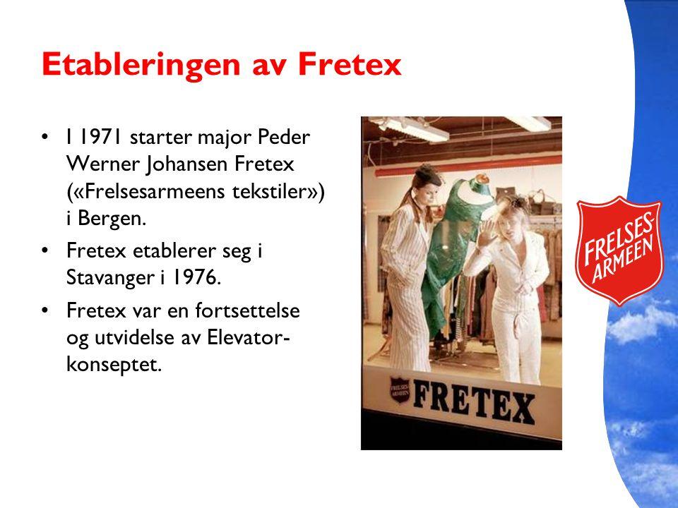 Etableringen av Fretex