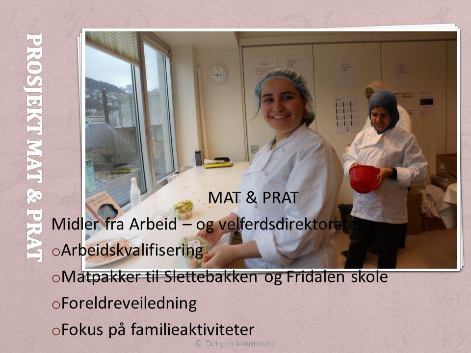 Prosjekt Mat & Prat MAT & PRAT