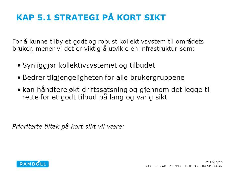 Kap 5.1 Strategi på kort sikt