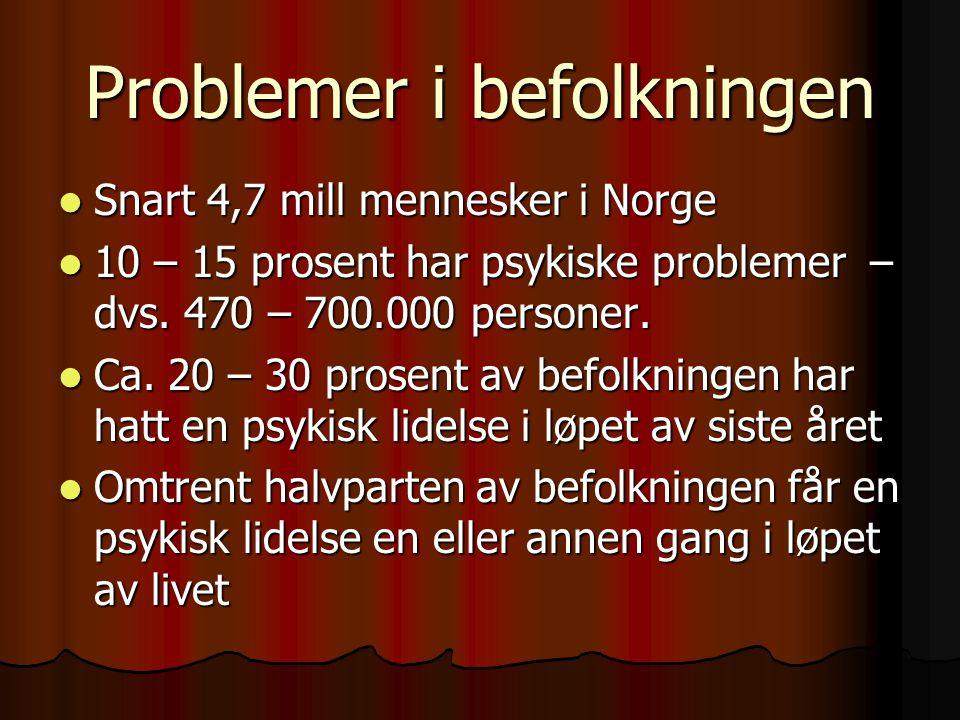 Problemer i befolkningen
