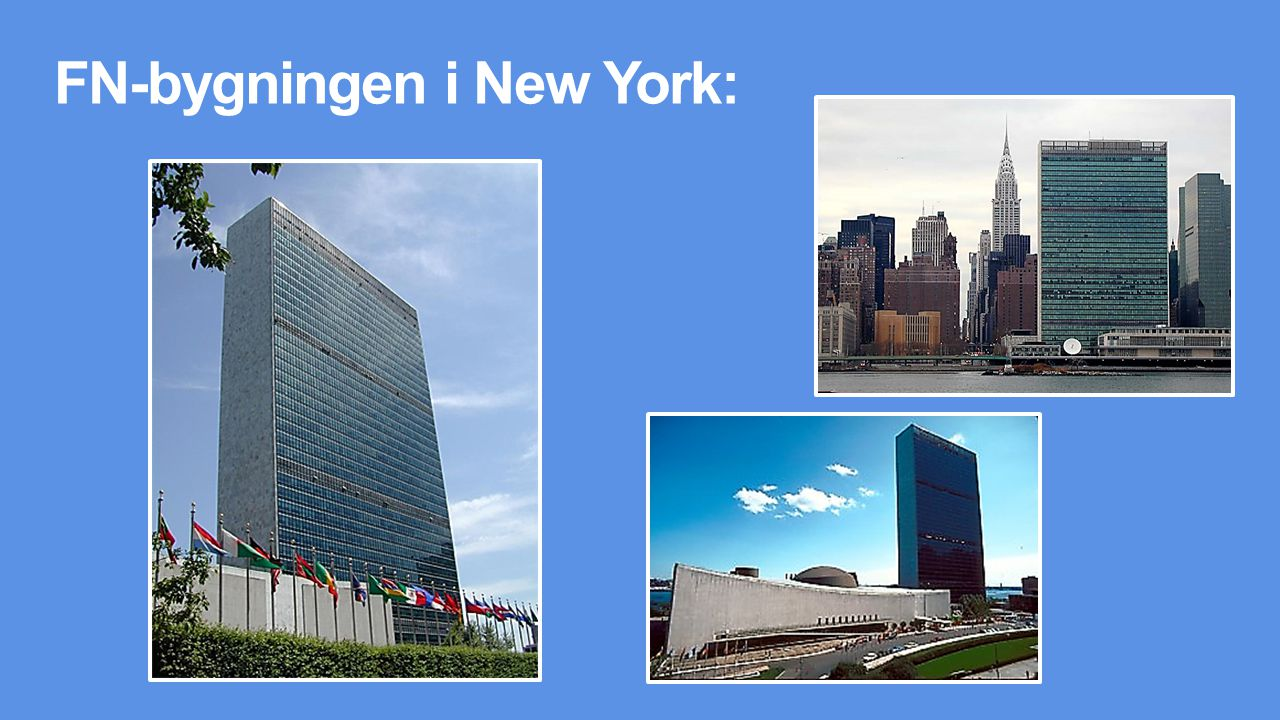 FN-bygningen i New York: